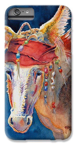 Jack Burro -  Donkey IPhone 6 Plus Case by Deb  Harclerode