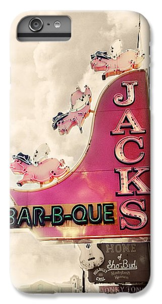 Jacks Bbq IPhone 6 Plus Case by Amy Tyler