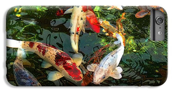Japanese Koi Fish Pond IPhone 6 Plus Case by Jennie Marie Schell