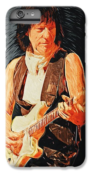 Jeff Beck IPhone 6 Plus Case by Taylan Soyturk
