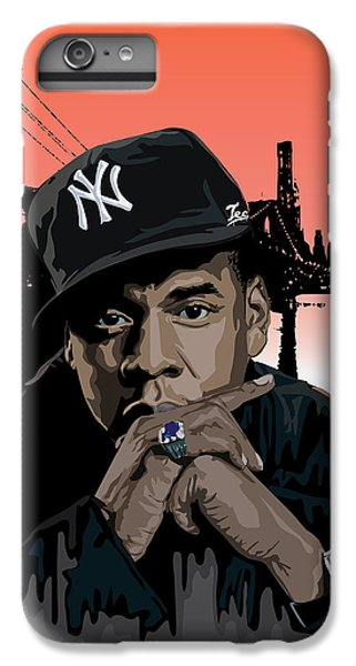 Jigga IPhone 6 Plus Case by Lawrence Carmichael