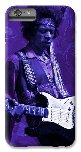 Jimi Hendrix Purple Haze IPhone 6 Plus Case by David Dehner