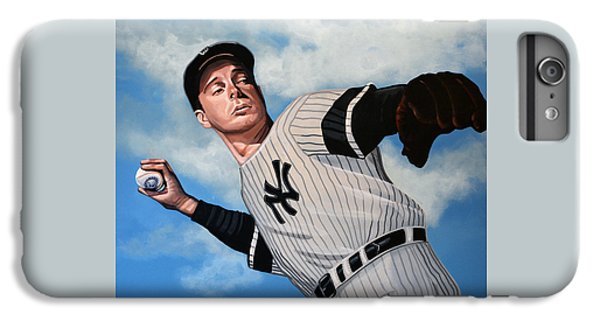 Joe Dimaggio IPhone 6 Plus Case by Paul Meijering