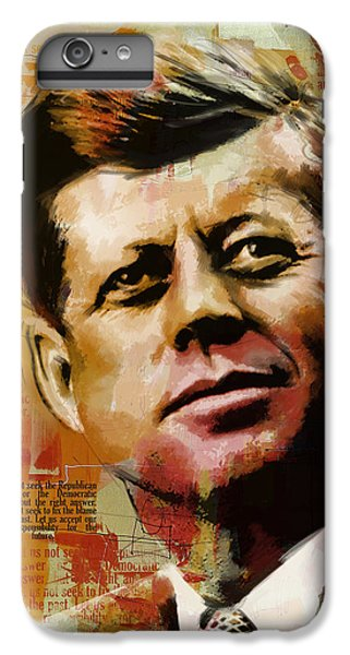 John F. Kennedy IPhone 6 Plus Case by Corporate Art Task Force