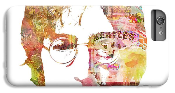 John Lennon IPhone 6 Plus Case by Mike Maher