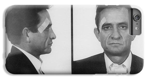 Johnny Cash Folsom Prison IPhone 6 Plus Case by David Millenheft