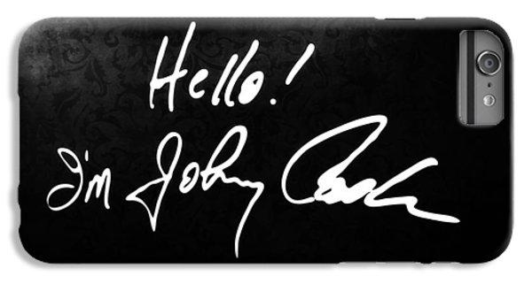 Johnny Cash Museum IPhone 6 Plus Case by Dan Sproul