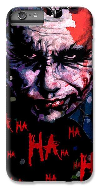 Joker IPhone 6 Plus Case by Jeremy Scott