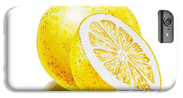 Juicy Grapefruit IPhone 6 Plus Case by Irina Sztukowski