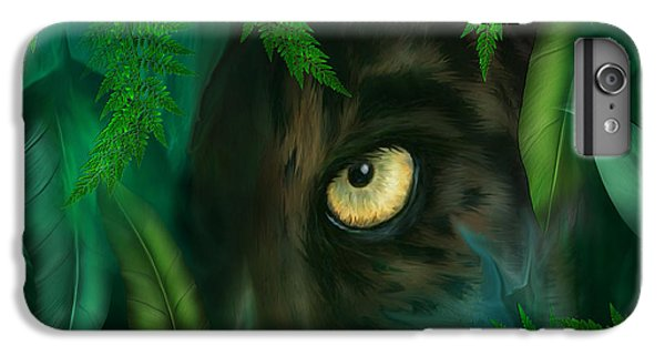 Jungle Eyes - Panther IPhone 6 Plus Case by Carol Cavalaris