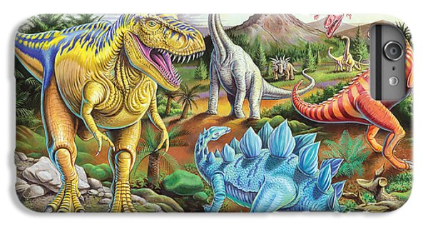 Jurassic Jubilee IPhone 6 Plus Case by Mark Gregory