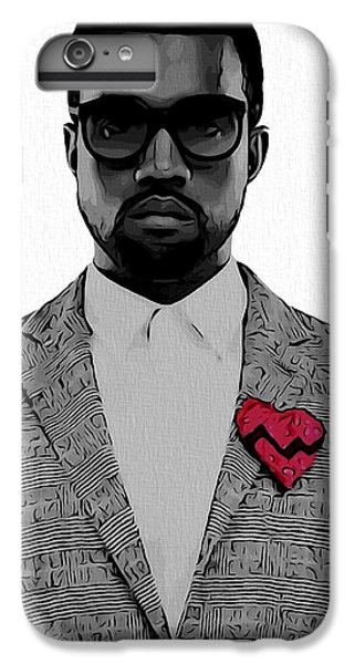 Kanye West  IPhone 6 Plus Case by Dan Sproul