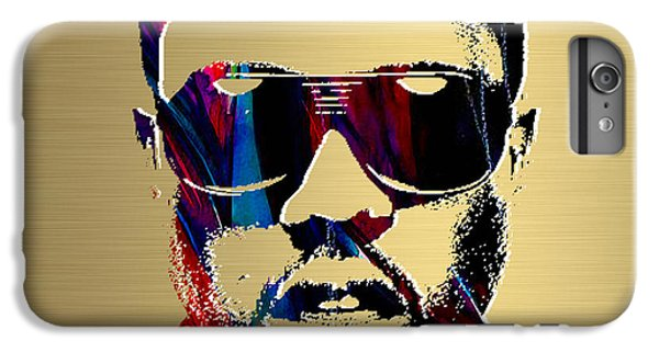 Kanye West Gold Series IPhone 6 Plus Case by Marvin Blaine