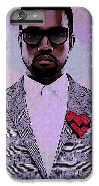Kanye West Poster IPhone 6 Plus Case by Dan Sproul
