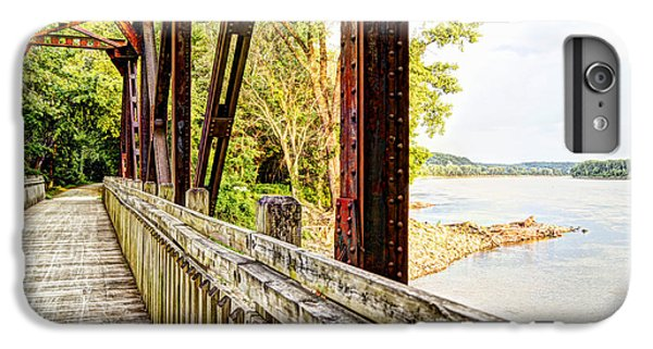 Katy Trail Near Coopers Landing IPhone 6 Plus Case by Cricket Hackmann