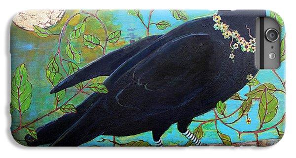 King Crow IPhone 6 Plus Case by Blenda Studio