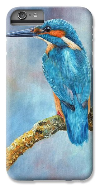 Kingfisher IPhone 6 Plus Case by David Stribbling