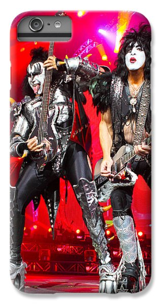 Kiss - 40th Anniversary Tour Live - Simmons And Stanley IPhone 6 Plus Case by Epic Rights