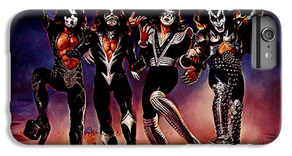Kiss - Destroyer IPhone 6 Plus Case by Epic Rights