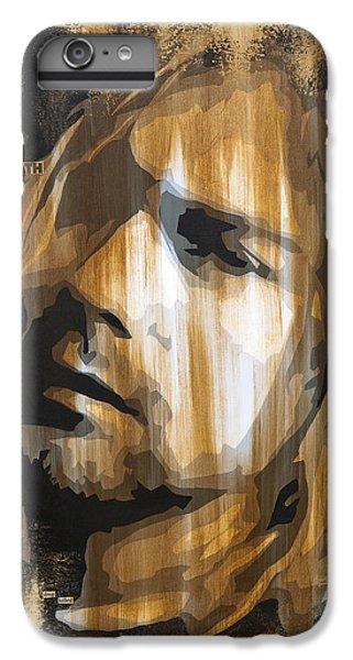 Kurt Cobain Tormented  IPhone 6 Plus Case by Brad Jensen