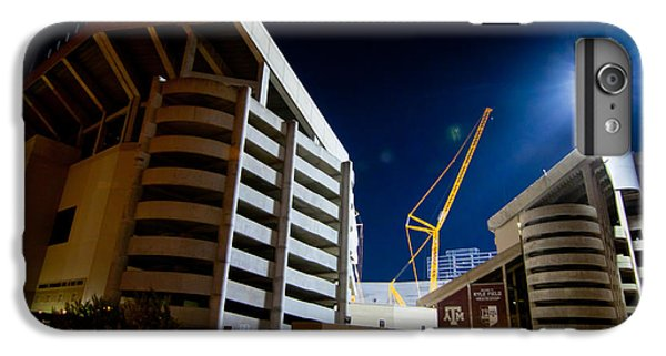 Kyle Field Construction IPhone 6 Plus Case by Linda Unger
