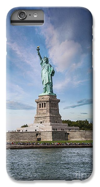 Lady Liberty IPhone 6 Plus Case by Juli Scalzi