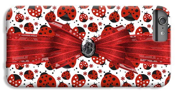 Ladybug Obsession  IPhone 6 Plus Case by Debra  Miller