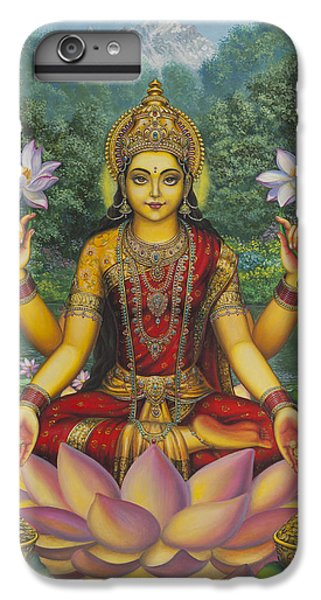 Lakshmi IPhone 6 Plus Case by Vrindavan Das