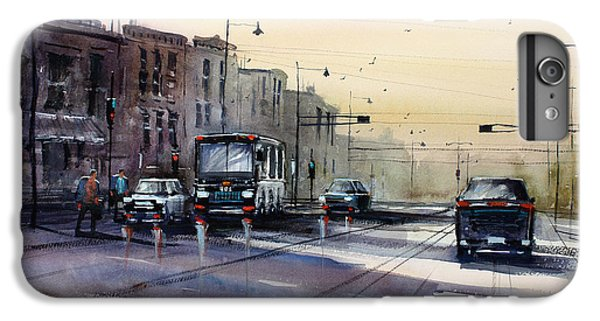Last Light - College Ave. IPhone 6 Plus Case by Ryan Radke