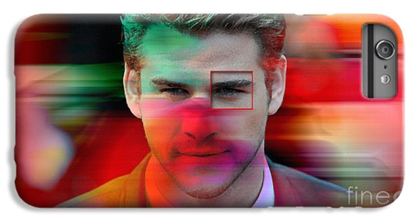 Liam Hemsworth Painting IPhone 6 Plus Case by Marvin Blaine