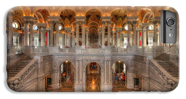 Library Of Congress IPhone 6 Plus Case by Steve Gadomski