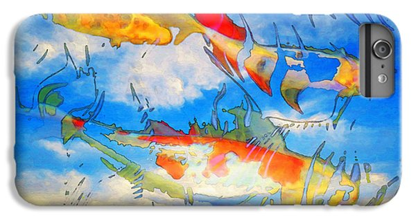 Life Is But A Dream - Koi Fish Art IPhone 6 Plus Case by Sharon Cummings