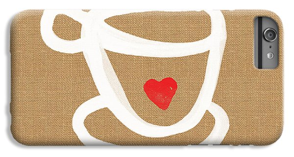 Little Cup Of Love IPhone 6 Plus Case by Linda Woods