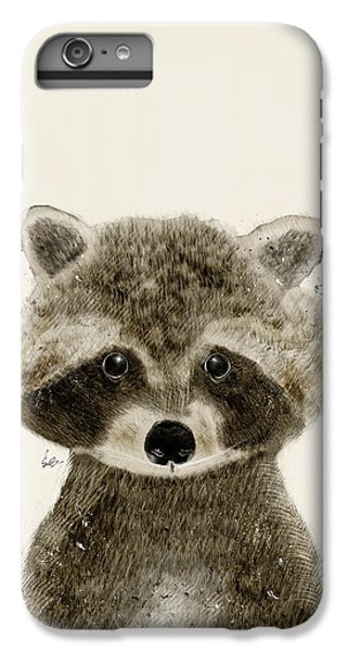 Little Raccoon IPhone 6 Plus Case by Bri B