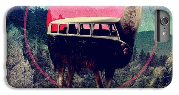 Llama IPhone 6 Plus Case by Ali Gulec