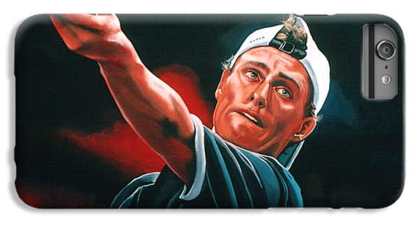 Lleyton Hewitt 2  IPhone 6 Plus Case by Paul Meijering
