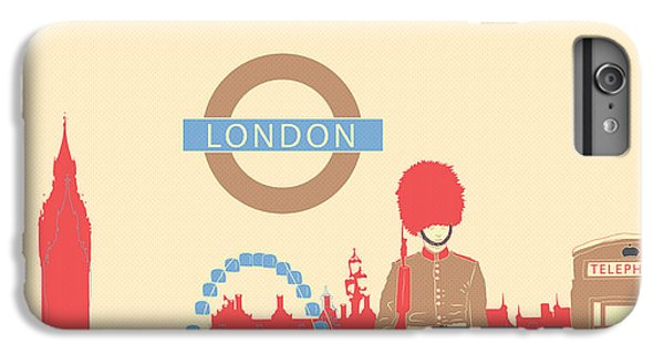 London England IPhone 6 Plus Case by Famenxt DB