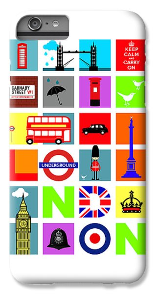 London IPhone 6 Plus Case by Mark Rogan