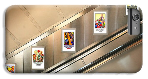 London Underground Poster Collection IPhone 6 Plus Case by Mark Rogan