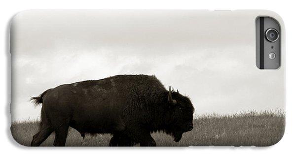 Lone Bison IPhone 6 Plus Case by Olivier Le Queinec