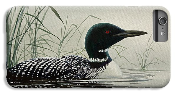 Loon Near The Shore IPhone 6 Plus Case by James Williamson