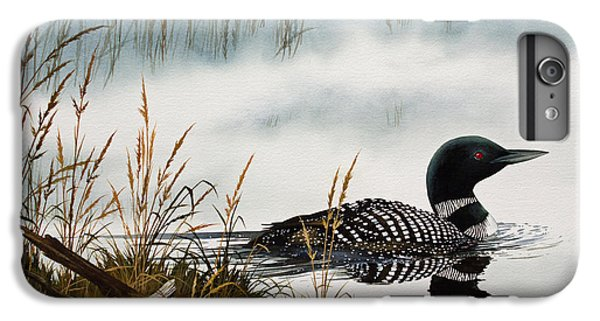 Loons Misty Shore IPhone 6 Plus Case by James Williamson