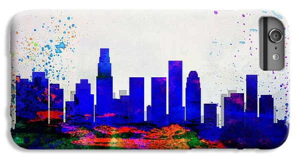 Los Angeles City Skyline IPhone 6 Plus Case by Naxart Studio