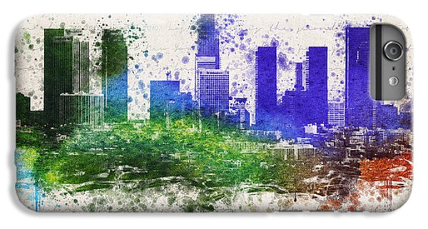 Los Angeles In Color  IPhone 6 Plus Case by Aged Pixel