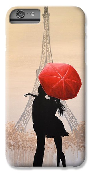 Love In Paris IPhone 6 Plus Case by Amy Giacomelli