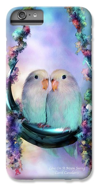Love On A Moon Swing IPhone 6 Plus Case by Carol Cavalaris