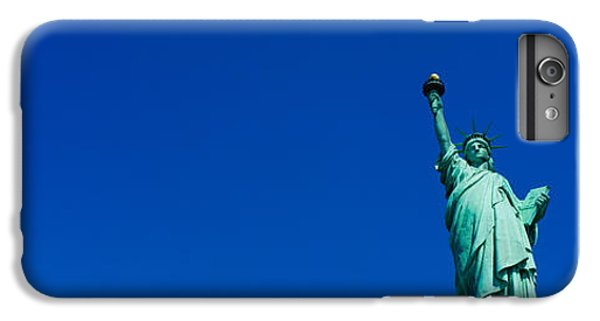 Low Angle View Of Statue Of Liberty IPhone 6 Plus Case by Panoramic Images
