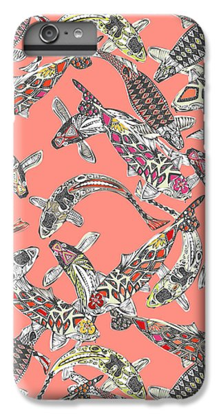 Lucky Koi Coral IPhone 6 Plus Case by Sharon Turner