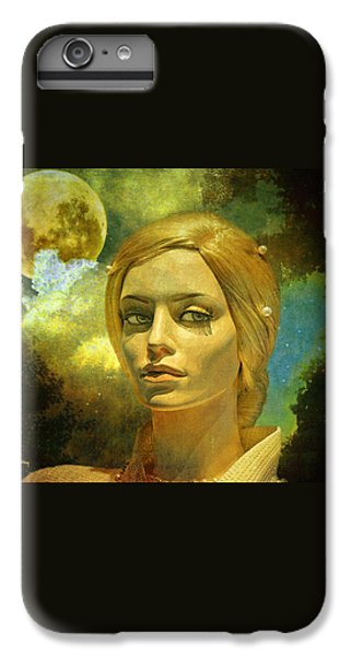 Luna In The Garden Of Evil IPhone 6 Plus Case by Chuck Staley