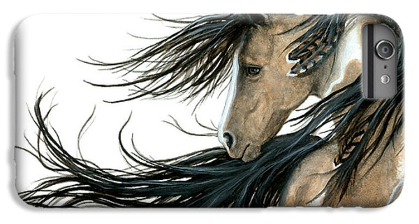 Majestic Horse Series 89 IPhone 6 Plus Case by AmyLyn Bihrle
